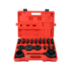 23pc FWD Front Wheel Drive Bearing Removal Install Service Adaptor Tool Kit