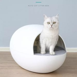 Petree Automated Self Clean Pet Cat Litter Box Tray