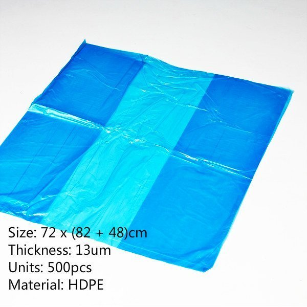 Blue Crate Liners-Box 500