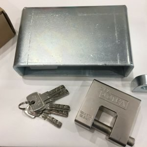Shipping Container Lock Box weld model